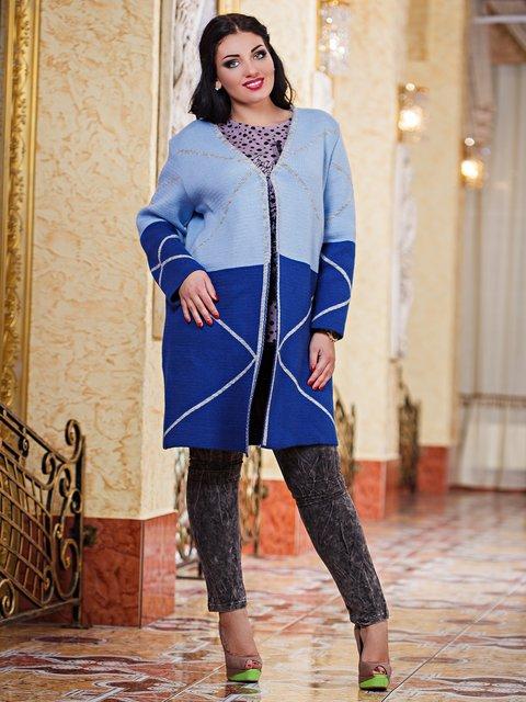 Кардиган синьо-блакитний Marakesh 3484282