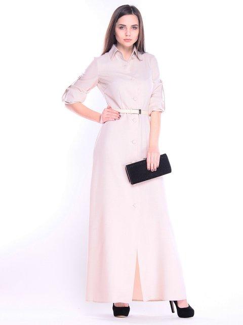 Платье бежевое Maurini 3141558