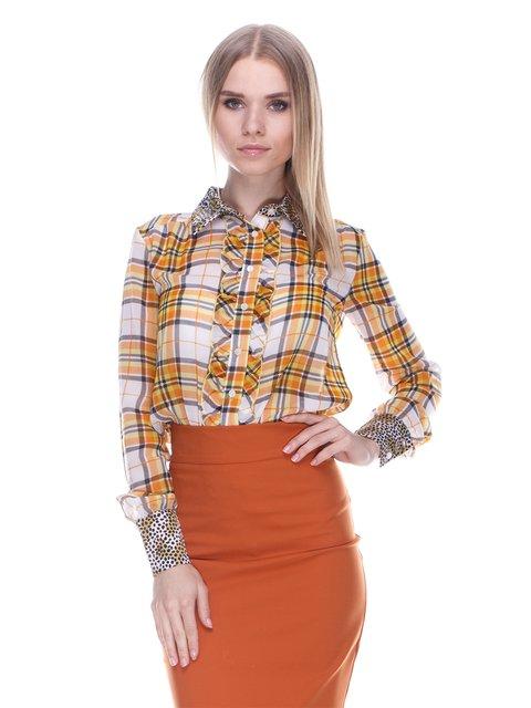 Блуза клетчатая Denny Rose 3478049