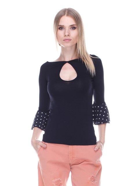 Блуза черная Denny Rose 3478028