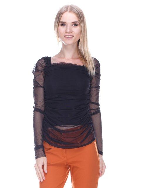 Блуза черная Denny Rose 3478023