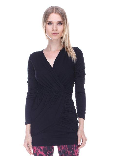 Блуза черная Denny Rose 3478024