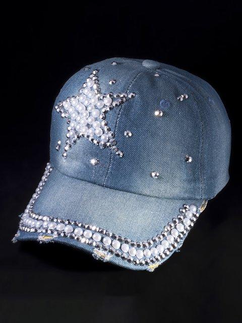 Бейсболка синяя Denim 3488324