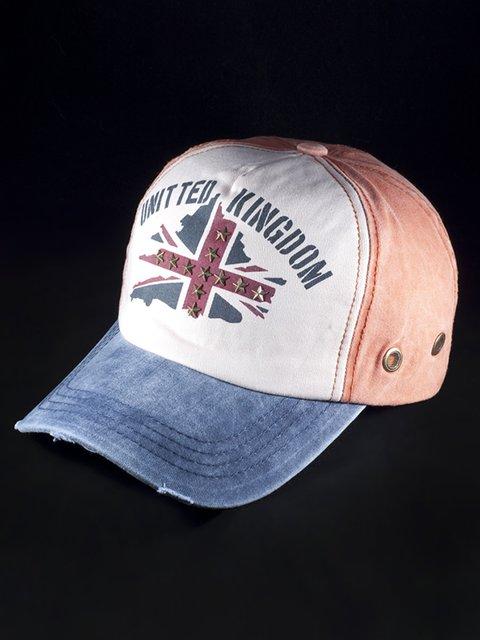 Бейсболка комбинированной расцветки United Kingdom 3488362
