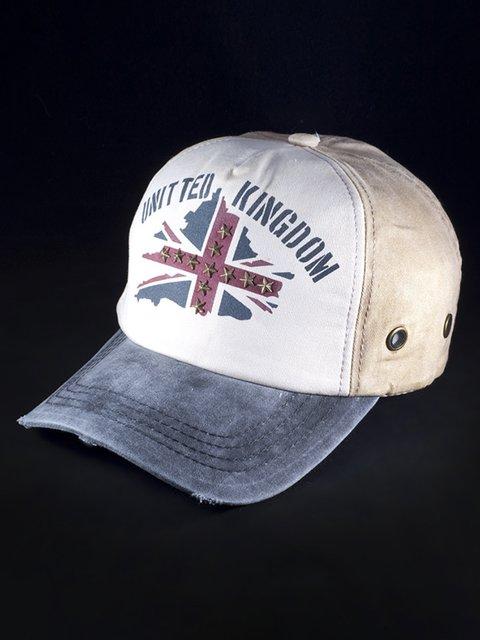 Бейсболка комбінованого забарвлення United Kingdom 3488403