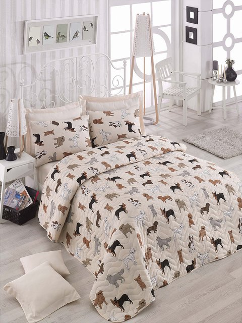 Комплект: покривало та наволочки Eponj Home 3500418