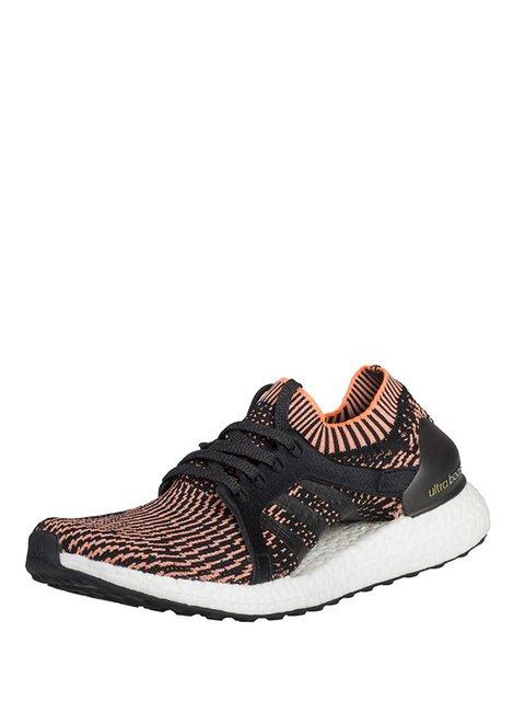 Кроссовки черно-оранжевые Adidas 3478132
