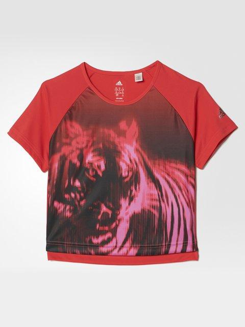 Футболка червона Adidas 3478180