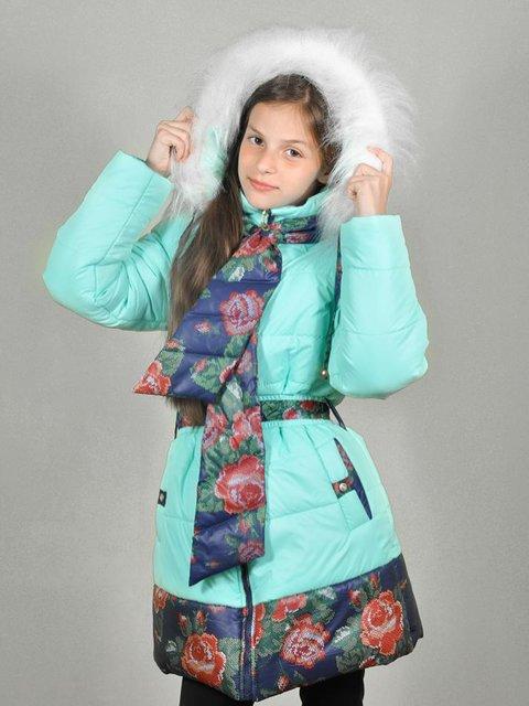 Комплект: пальто и шарф Lider Class 3271901