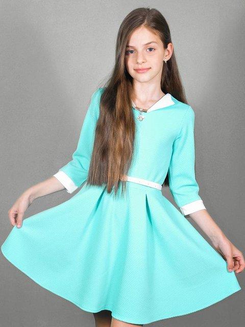 Сукня м'ятного кольору Lider Class 3468547