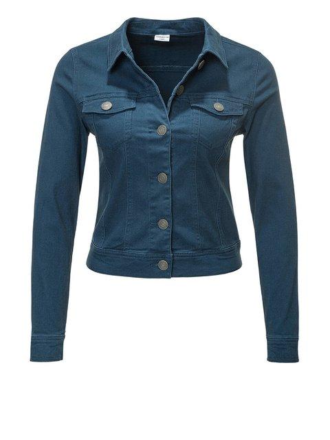 Куртка темно-синяя Jacqueline de Yong 3501815
