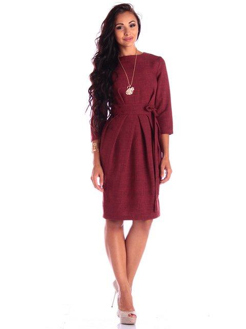 Платье светло-сливовое Maurini 3503892