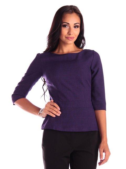Блуза темно-фиолетовая Rebecca Tatti 3503896