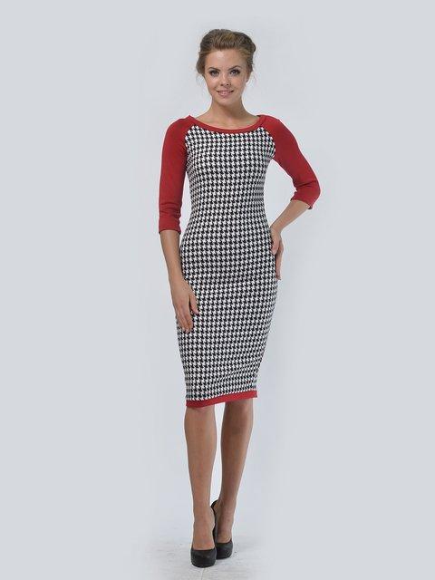 Платье комбинированной расцветки LILA KASS 3505411