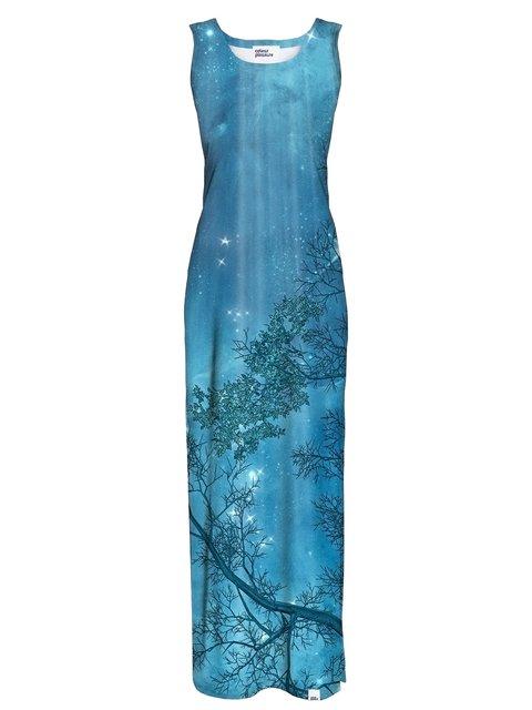 Сукня синя в принт Colour Pleasure 3510361