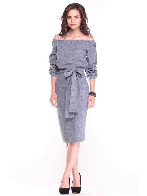 Платье дымчатого цвета Rebecca Tatti 3517144