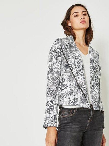 Куртка в цветочный принт Promod 3505149