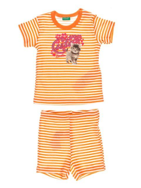 Комплект: футболка і шорти Benetton 3437986
