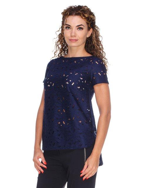 Блуза ажурна з асиметричним низом Marc Vero Maxxi 3260054