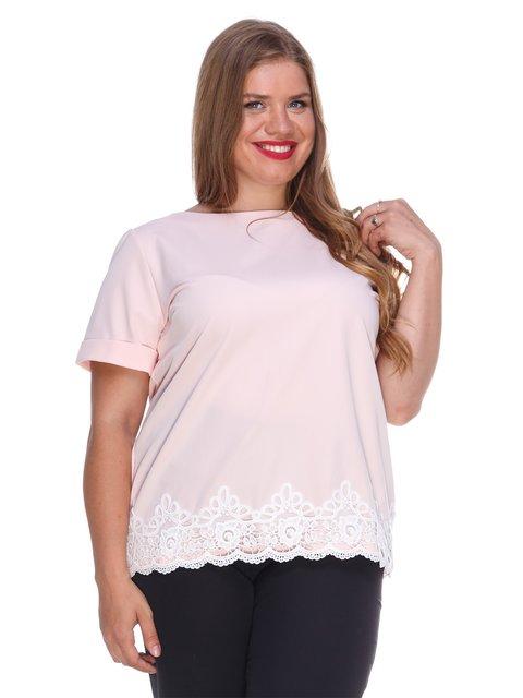 Блуза рожевого кольору Marc Vero Maxxi 3328743