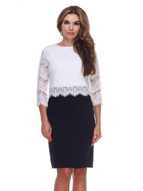Сукня чорно-біла Marc Vero Maxxi 2763913