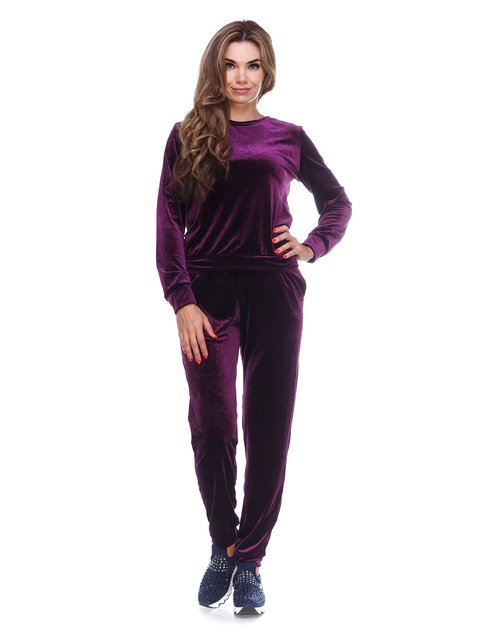 Костюм з оксамиту фіолетовий Marc Vero Maxxi 3086352