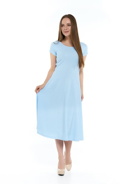 Платье голубое MOONLIGHT 3264142