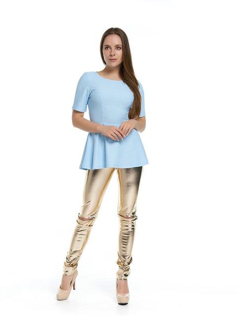 Блуза голубая MOONLIGHT 3279885