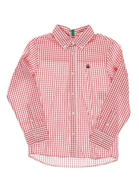Рубашка клетчатая Benetton 1873330