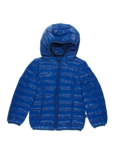 Пуховик синий Benetton 3520382