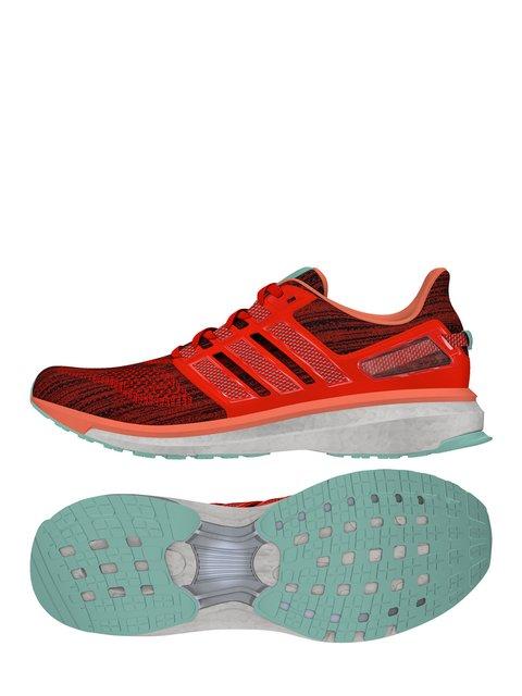 Кроссовки оранжево-черные Adidas 3523048
