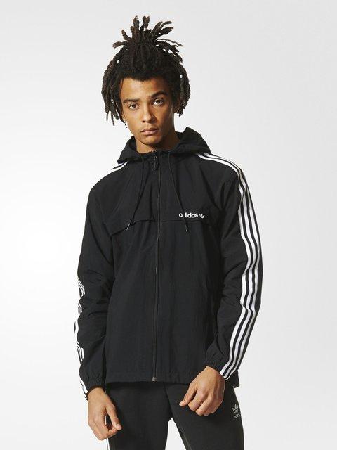 Ветровка черная Adidas 3523290