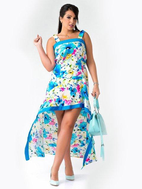 Платье в цветочный принт LibeAmore 3543410