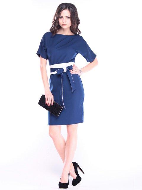 Платье сине-молочное Rebecca Tatti 2996574