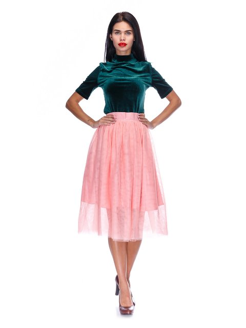 Спідниця персикового кольору Atelier private 3255735