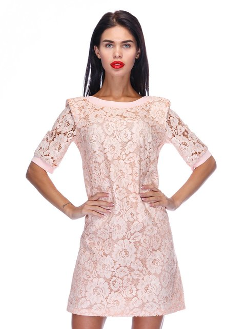 Сукня персикового кольору Atelier private 3295546