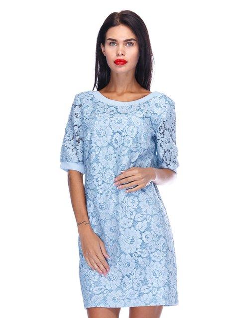 Сукня блакитного кольору Atelier private 3295545