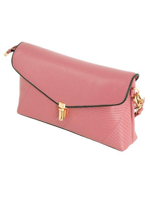 Клатч рожевий Traum 3551534
