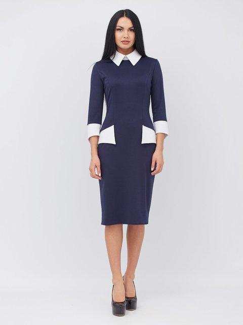 Платье синее Alana 3554039