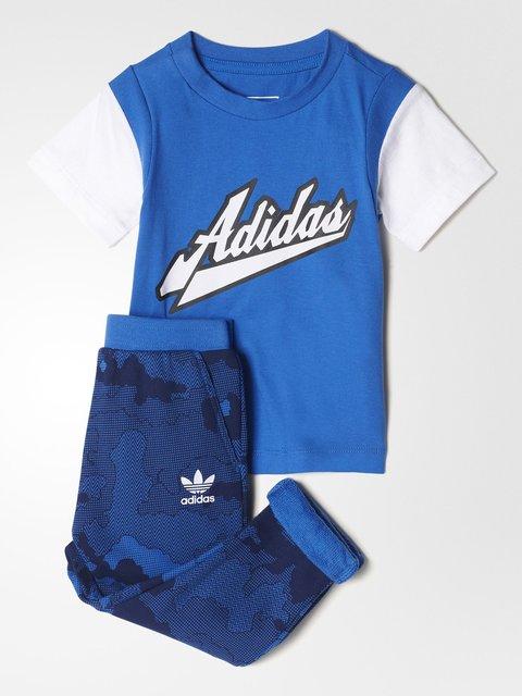 Костюм спортивный: футболка и брюки Adidas 3502807
