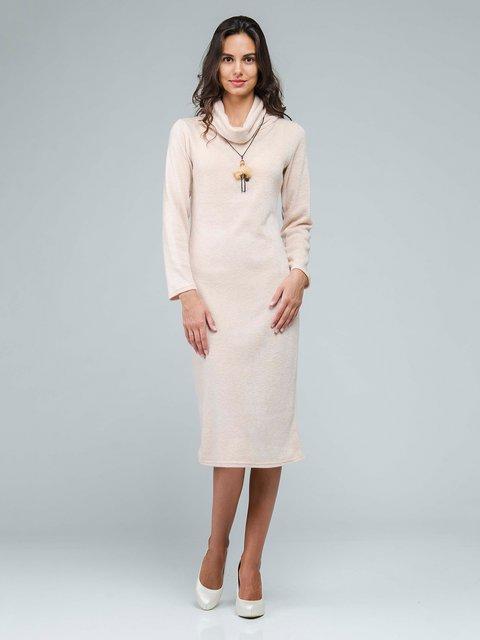Платье светло-бежевое AERIN 3562695