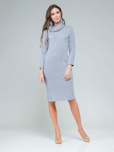 Платье светло-серое AERIN 3562702