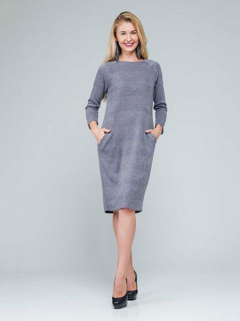 Платье серое AERIN 3562803
