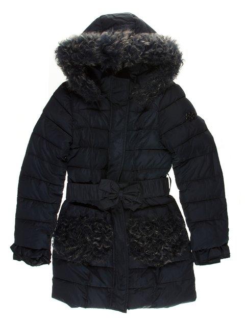 Пальто синее De Salitto 3555181
