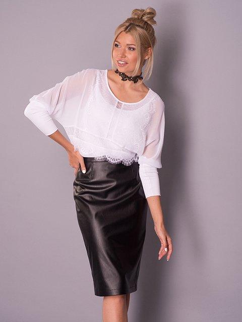 Блуза белая Lesya 3168103