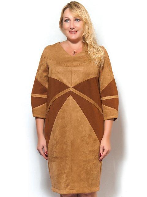 Платье коричневое LibeAmore 3572393