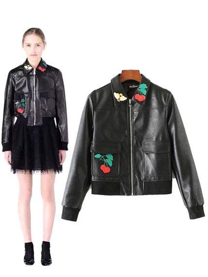 Куртка черная Maxmore 3575188