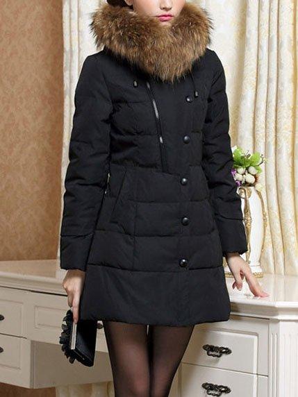 Пальто черное Maxmore 3575770