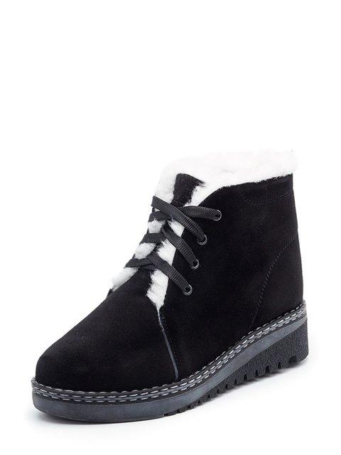 Ботинки черные Tops 3562485
