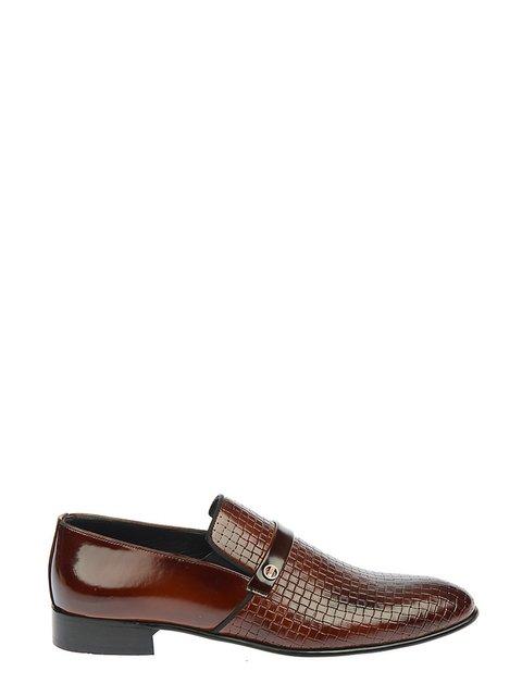 Туфлі коричневі DRG Derigo 3582992